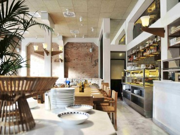 Restaurant Interior Design Barcelona Architecture